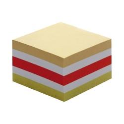 Kockatömb 8,5x8,5x4,5 cm színes