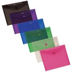 Irattartó tasak Comix A/5 patentos A1854 vegyes színek M