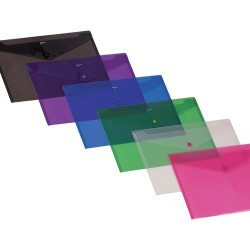 Irattartó tasak Comix LA/4 patentos A1855 vegyes színek M