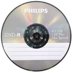 DVD-R Philips 4.7 GB írható vékony tokos