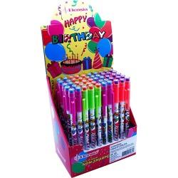Tolóbetétes ceruza Bensia radíros PAEPF96 happy birthday 50 db/display