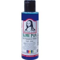 Kreatív ragasztó Mona Lisa Slime 70 ml, kék