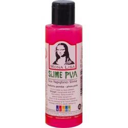 Kreatív ragasztó Mona Lisa Slime 70 ml, neon pink