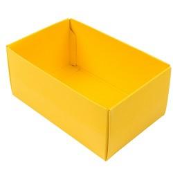 Kreatív doboz Buntbox S téglalap napsárga