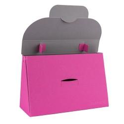 Kreatív táska Buntbox L füles rózsaszín