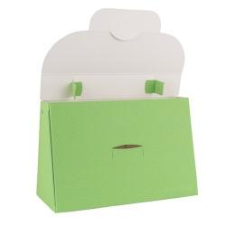 Kreatív táska Buntbox L füles almazöld
