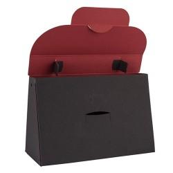 Kreatív táska Buntbox L füles grafitszürke