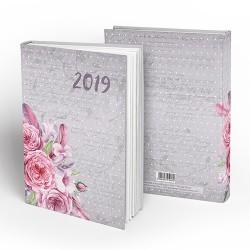 Határidőnapló pd A/5 napi Vintage Roses 2019