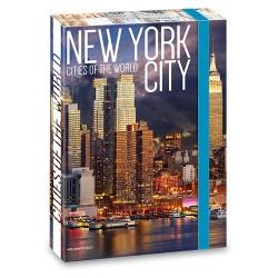Füzetbox Ars Una A/4 45 mm gerinccel New York ( 860 ) 18