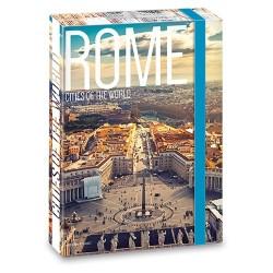 Füzetbox Ars Una A/4 45 mm gerinccel Rome ( 862 ) 18
