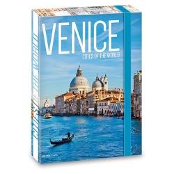 Füzetbox Ars Una A/4 45 mm gerinccel Venice ( 863 ) 18