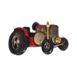 Hűtőmágnes 7,5x 4 cm autó piros/fekete ( polirezin )