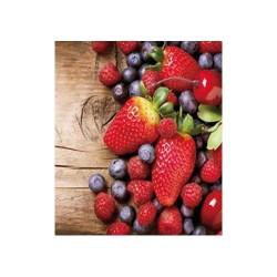 Szalvéta 33 x 33 cm 3 rétegű Erdei gyümölcs