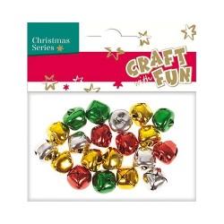 Karácsonyi CF csengő színes 20 db/csomag