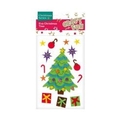 Karácsonyi habszivacs CF fenyőfa