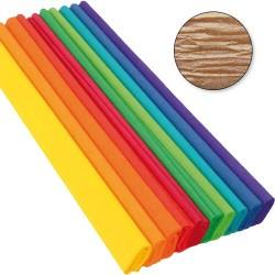 Krepp-papír 200x50 cm gyöngyház óarany