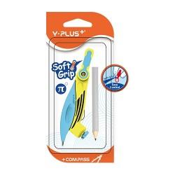 Körző Y-Plus+ különböző színű színes, ceruzával