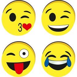 Táblatörlő szivacs Centrum Emojidex mágneses 5 cm