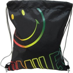 Tornazsák Smiley Basic fekete