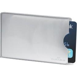 Biztonsági bankkártya tok Durable RFID Secure ezüst