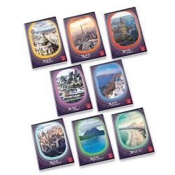 Füzet Pigna Hello Travel A/4 tűzött 42 lapos kockás