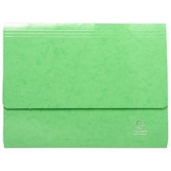 Irattartó mappa Exacompta Iderama A/4 fekvő zöld