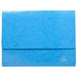 Irattartó mappa Exacompta Iderama A/4 fekvő kék