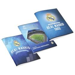 Füzet Real Madrid A/4 87-40 kockás