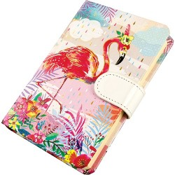 Napló Centrum Flamingo 140x95 mm mágneszáras