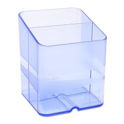 Írószertartó Exacompta Pen-Cube áttetsző jég kék