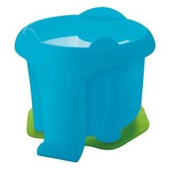 Ecsettál Herlitz elefánt formával, kék