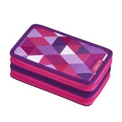 Tolltartó Herlitz 3 emeletes 31 részes Pink Cubes