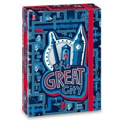 Füzetbox Ars Una A/5 40 mm-es gerinccel The Great City (899) 19
