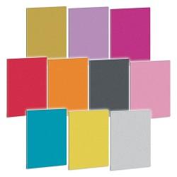 Füzet Ars Una nagyalakú extra kapcsos 40 lapos négyzethálós Glitter mix (559) 19