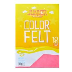 Kreatív Junior filc lapok A/4, rózsaszín, 10 db/csomag
