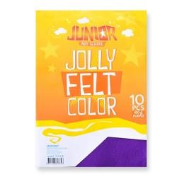 Kreatív Junior filc lapok A/4, lila, 10 db/csomag