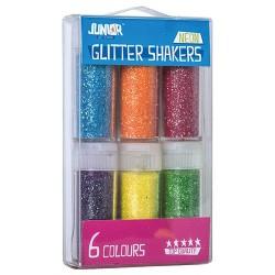 Kreatív Junior csillámpor neon , vegyes 6 db/csomag