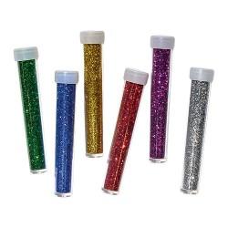 Kreatív Junior csillám metál, kis kiszerelés, vegyes, 6 db/csomag