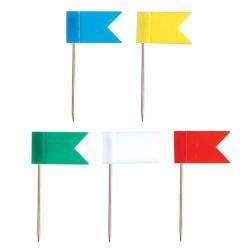 Térképtű ErichKrause 50 db/doboz zászlós