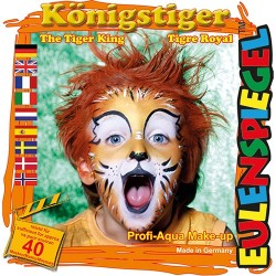 Kreatív arcfesték ES 4 db-os klt. királytigris