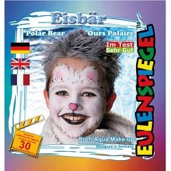 Kreatív arcfesték ES 4 db-os klt. jegesmedve