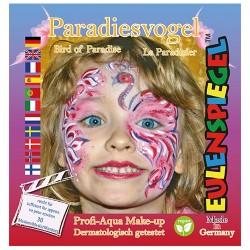 Kreatív arcfesték ES 4 db-os klt. paradicsommadár