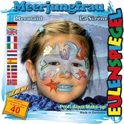 Kreatív arcfesték ES 4 db-os klt. sellőlány