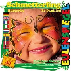 Kreatív arcfesték ES 4 db-os klt. pillangó