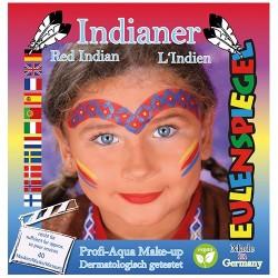 Kreatív arcfesték ES 4 db-os klt. indián
