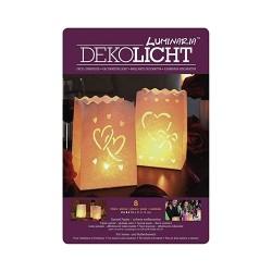 Kreatív Luminaria lámpásszett love