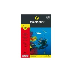 Fotókarton Canson A/3 180g fekete 10 ív/csomag