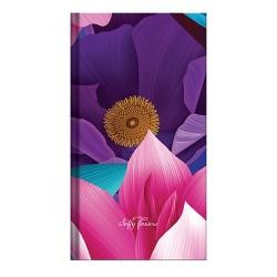 Zsebnaptár Softy flowers heti álló SF-01