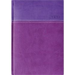 Határidőnapló Twill B/5 heti lila