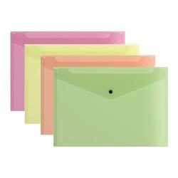 Irattartó tasak ErichKrause A/4 neon vegyes színek